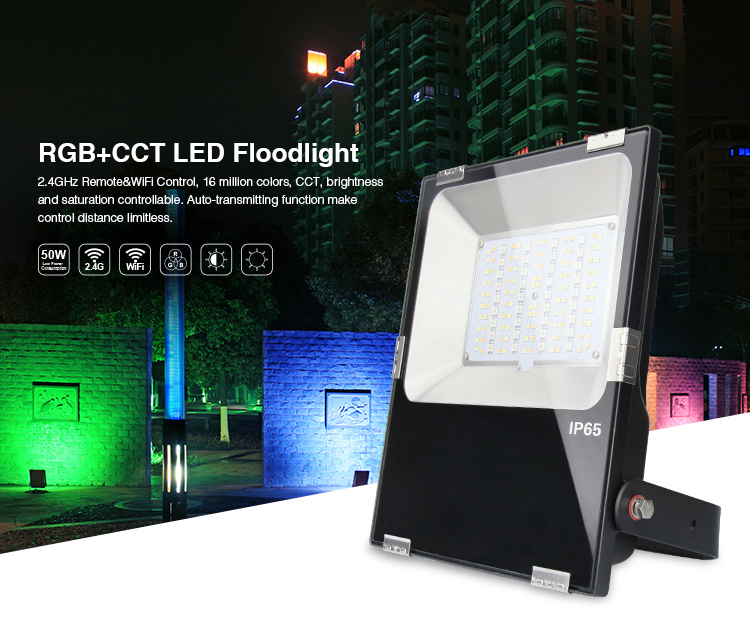 50W RGB+CCT LED Floodlight