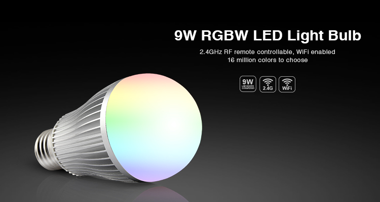 9W RGBW LED Light Bulb