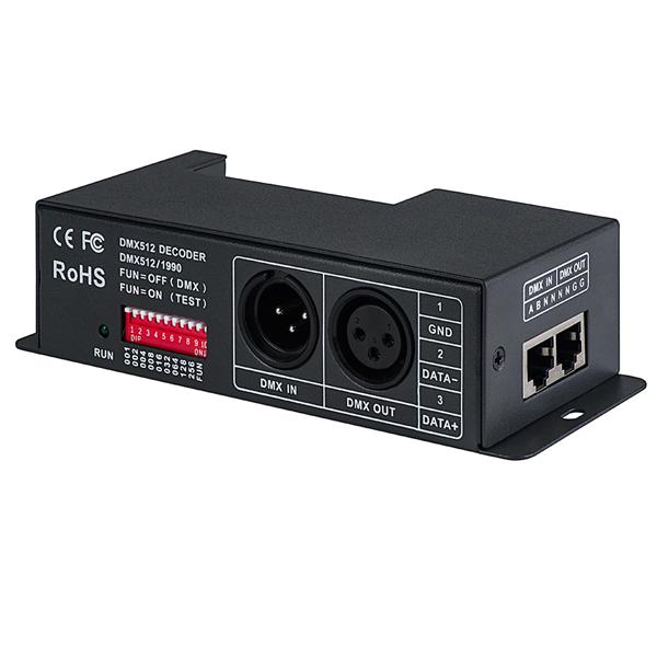 DMX-X4CH-5A 5 Amp 4 Channel LED DMX Controller/Decoder [DMX