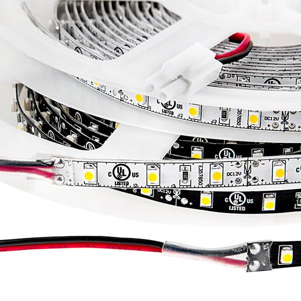 LED Light Strips - LED Tape Light with 18 SMDs/ft., 1 Chip SMD LED 3528 with LC2 Connector