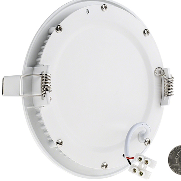 6 round low profile led recessed light 9w rlfp 9rx 1825 6 round low profile led recessed light 9w aloadofball Choice Image