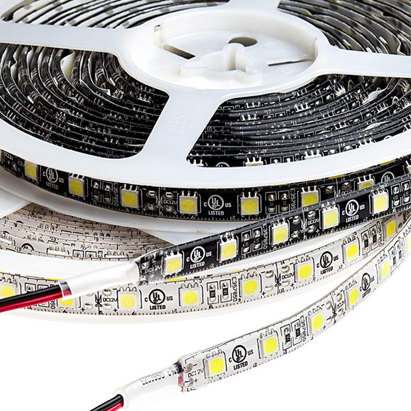 Outdoor LED Light Strips - Weatherproof LED Tape Light with 18 SMDs/ft., 3 Chip SMD LED 5050