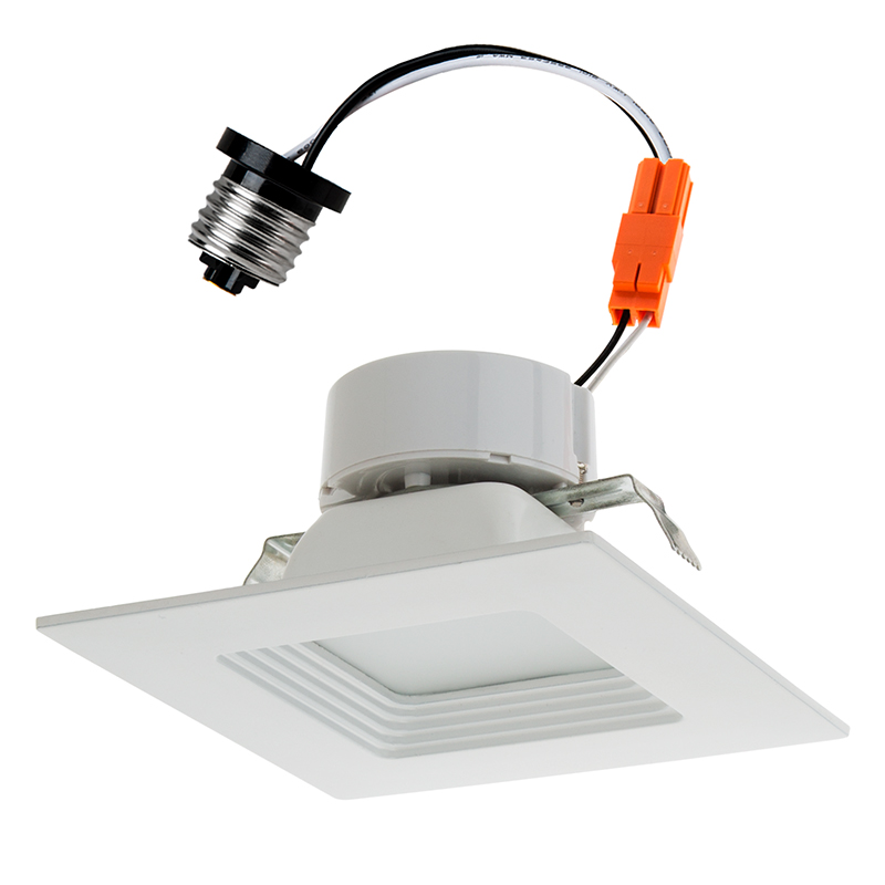 Can Light Conversion Kit >> Retrofit Square Led Can Lights For 4 Housings 75 Watt
