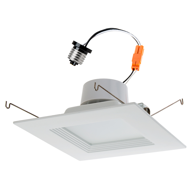 Can Light Conversion Kit >> Retrofit Square Led Can Lights For 5 To 6 Housings 150 Watt